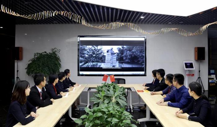 【镜头】特房集团:学习榜样正方向 凝聚发展正能量