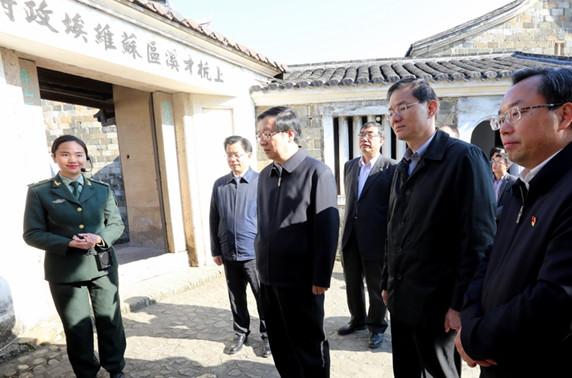 刘学新到龙岩调研群众身边腐败问题查处工作
